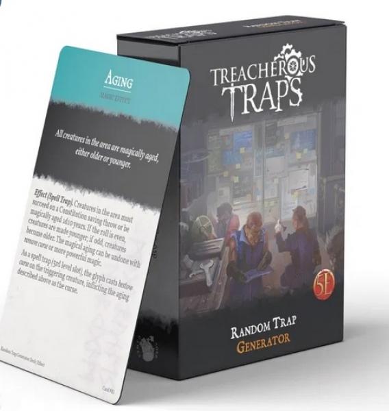 RPG Accessory: Random Trap Generator Deck (5E)