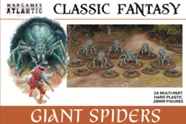 Classic Fantasy Giant Spiders