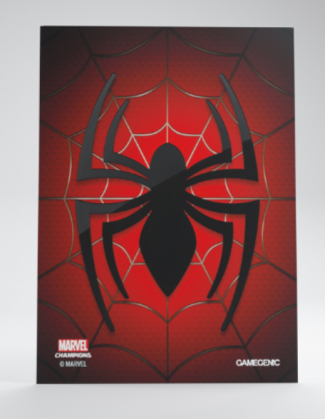 Gamegenic: Marvel Champions Art Standard Size Sleeves - Spiderman (50)