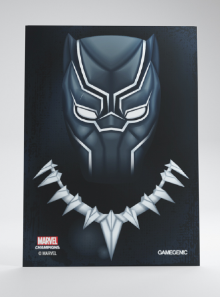 Gamegenic: Marvel Champions Art Standard Size Sleeves - Black Panther (50)