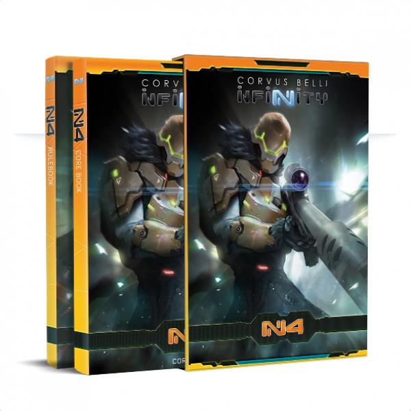 Infinity: N4 Core Rulebook [Preorders receive FREE Oktavia Grimsdottir, Icebreaker Harpooner mini]