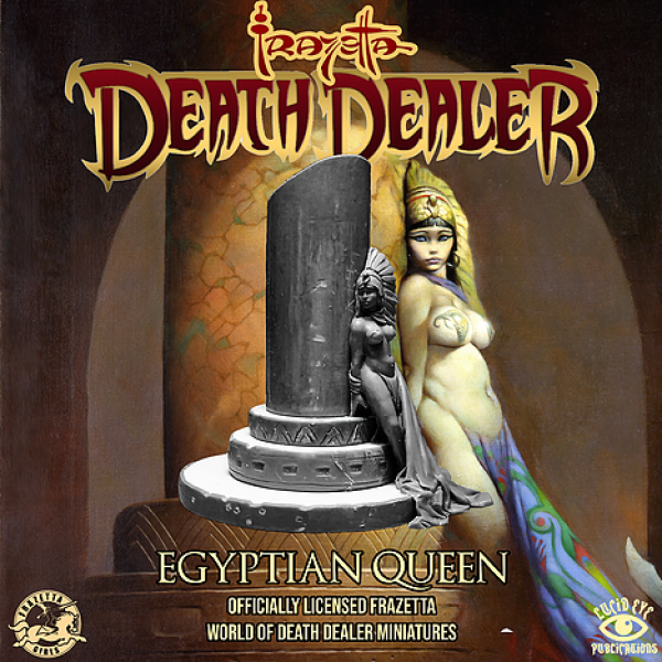 Lucid Eye: Frazetta World of Death Dealer - Egyptian Queen