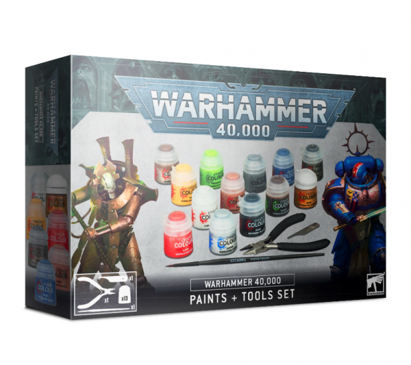 WH40K: Paints & Tools Set (2020)