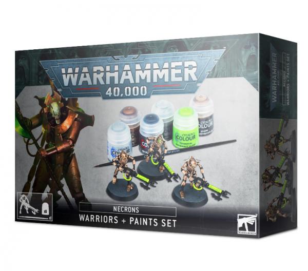 WH40K: Necron Warriors + Paint Set