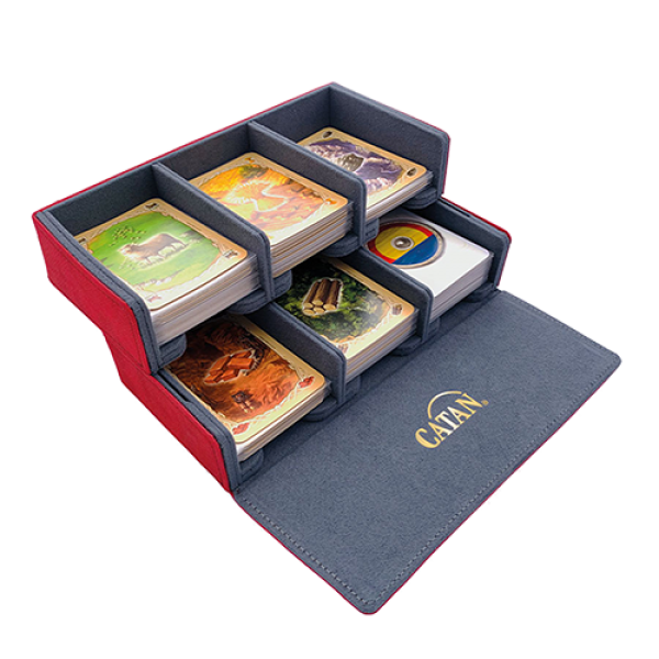 Gamegenic: Catan Trading Post Card Holder with Dice Tray