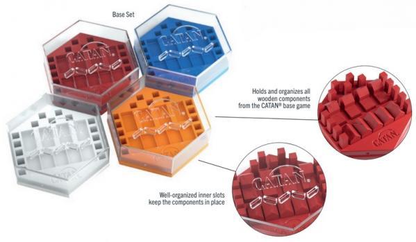 Gamegenic: Catan Hexadocks Base Set