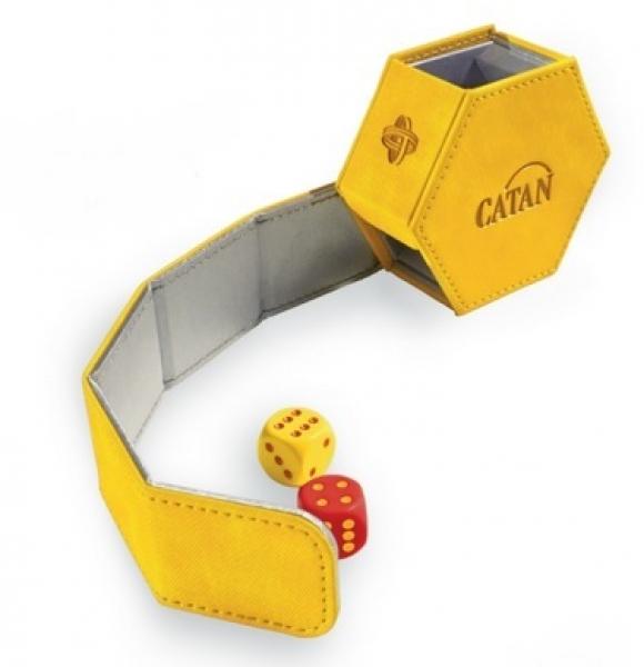 Gamegenic: Catan Hexatower Dice Tower - Yellow