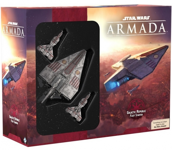 Star Wars Armada: Galactic Republic Fleet Starter Pack