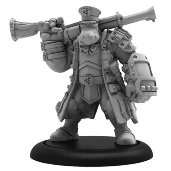 Hordes: (Trollbloods) Brigadier General Gunnbjorn – Trollbloods Warlock (metal)