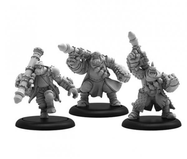 Hordes: (Trollbloods) Trollkin Barrage Team – Trollbloods Unit (metal)