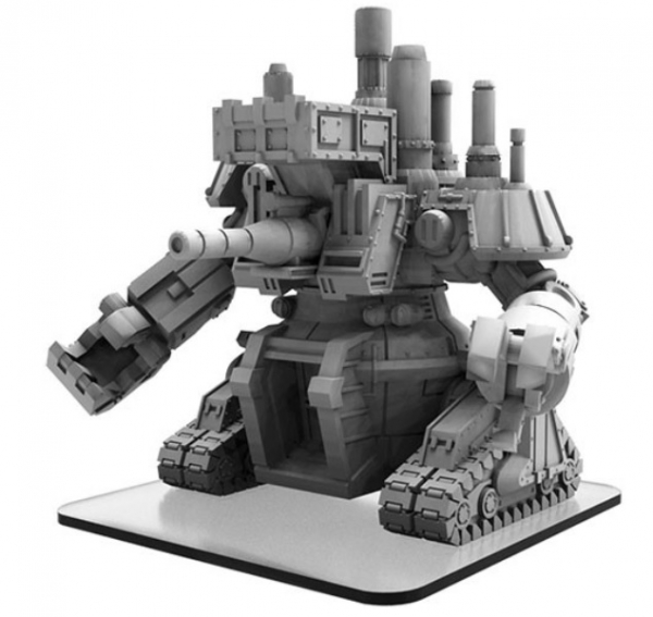 Monsterpocalypse: Zavod 075 – Zerkalo Bloc Monster (resin/metal)