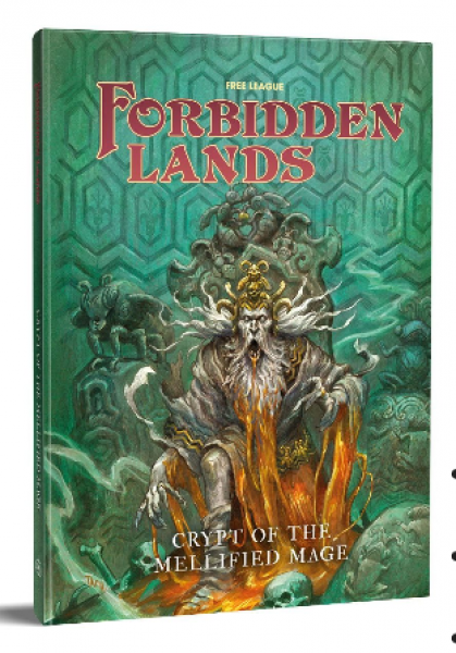 Forbidden Lands RPG: Crypt of the Mellified Mage