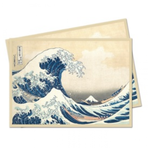 Deck Sleeves: Fine Art - The Great Wave Off Kanagawa Standard Deck Protectors (65)