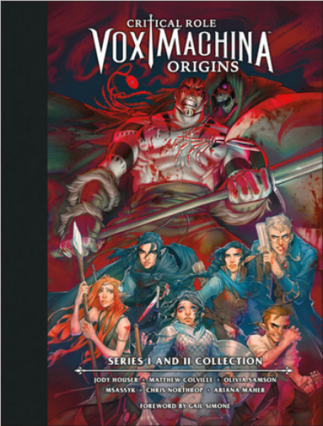 Critical Role: Vox Machina Origins Library Edition Series I & II Collection (HC)