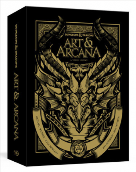 D&D: Art & Arcana [Special Edition, Boxed Book & Ephemera Set]