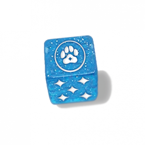 Magical Kitties Save the Day RPG: Kitty Paw Dice Set (6)
