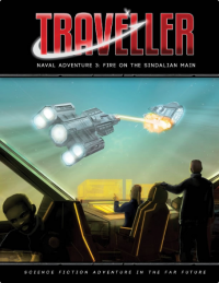 Traveller RPG: (Adventure) Fire on the Sindalian Main