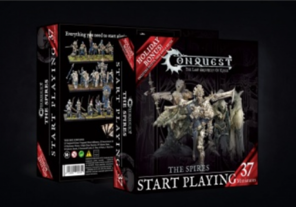 Conquest: The Spires Start Playing Holiday Gift Set (Wave 2)