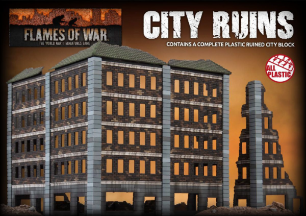 Battlefield in a Box: City Ruins (Plastic)