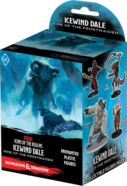 D&D Fantasy Miniatures: Icons of the Realms Set 17 Icewind Dale Rime of the Frostmaiden Pack (1)