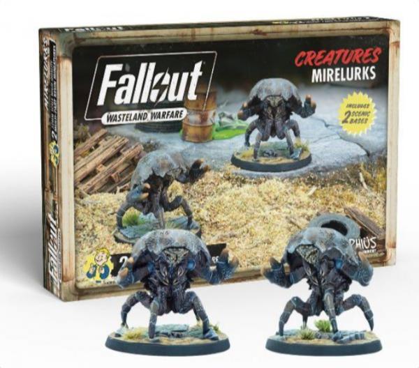 Fallout RPG: Wasteland Warfare - Mirelurks