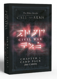 Elder Scrolls: Call To Arms Chapter 1 Card Pack - Civil War