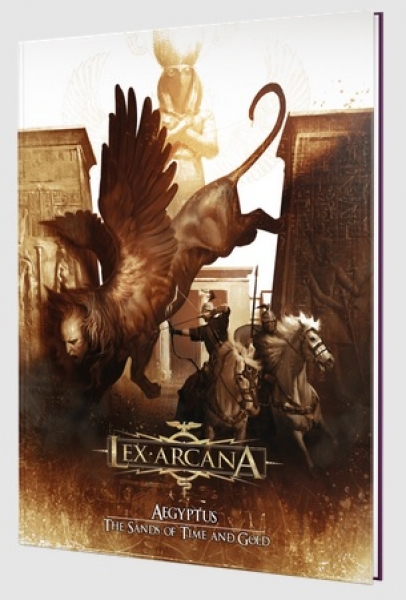 Lex Arcana RPG: Aegyptus - The Sands of Time and Gold (HC)