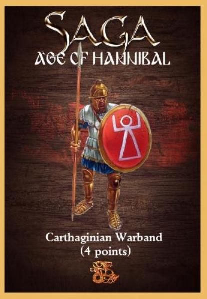 Saga - Age of Hannibal: Carthaginian Starter Warband (4 points)