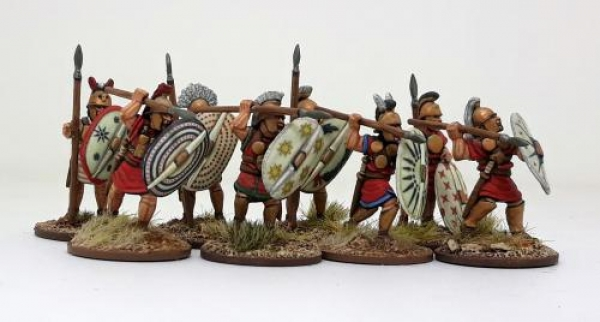 Saga - Age of Hannibal: Carthaginian CONTINGENT Warriors on Foot (8)