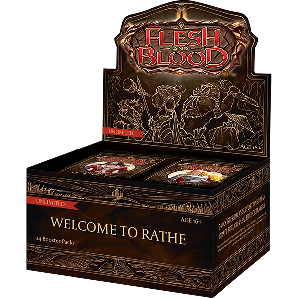 Flesh and Blood TCG: Welcome to Rathe Unlimited Edition Booster Pack (1)