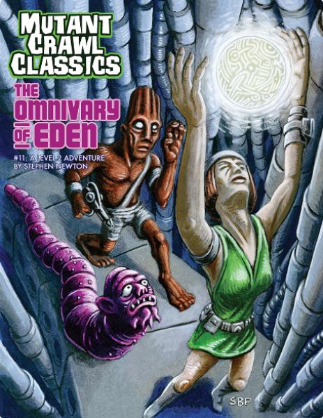 Mutant Crawl Classics RPG: Adventure #11 - The Omnivary of Eden