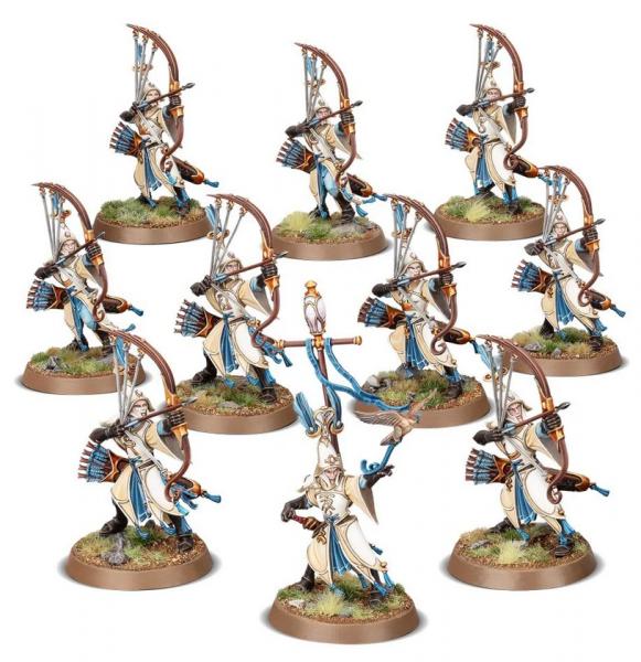 Age of Sigmar: Lumineth Realm Lords - Vanari Auralan Sentinels