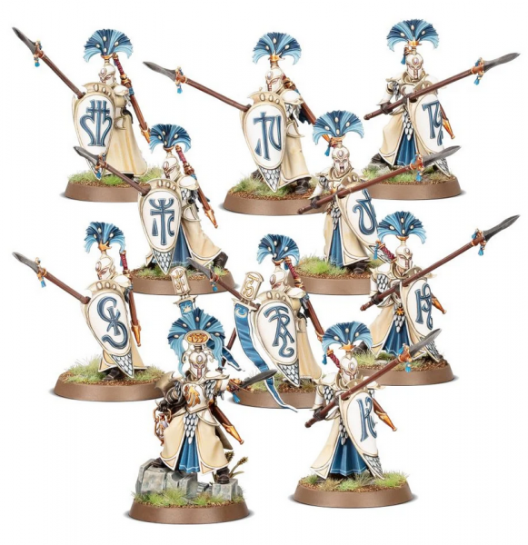 Age of Sigmar: Lumineth Realm Lords - Vanari Auralan Wardens