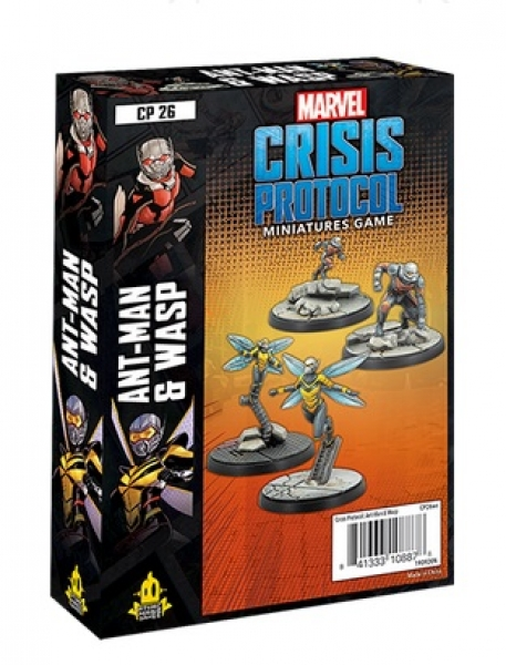 Marvel Crisis Protocol: Ant Man and Wasp Character Pack