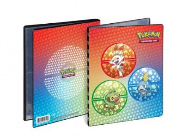 Pokemon CCG: Sword and Shield Galar Starters - 4-Pocket Portfolio