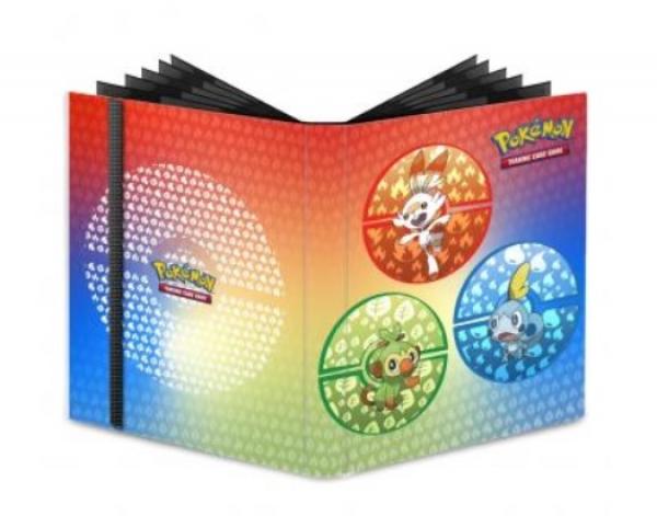 Pokemon CCG: Sword and Shield Galar Starters - 9-Pocket PRO-Binder