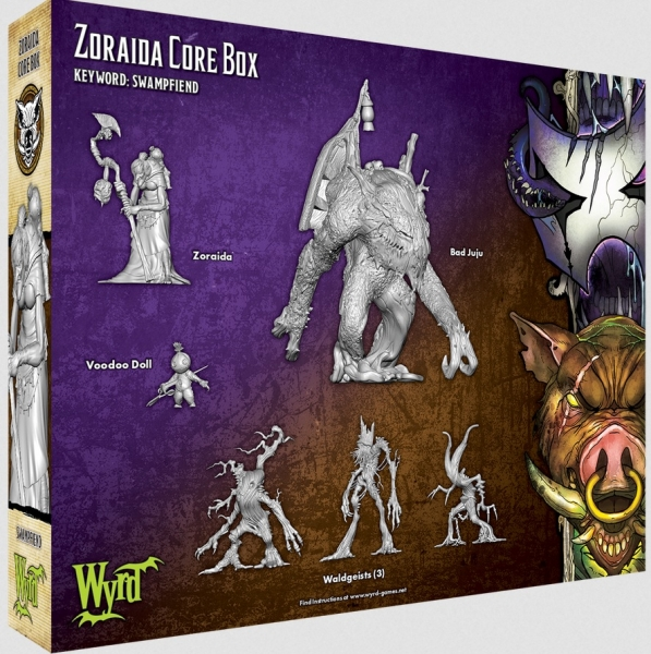 Malifaux (M3E): Zoraida Core Box