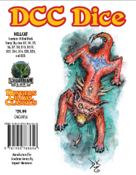 Dungeon Crawl Classics RPG: DCC Dice - Hellcat