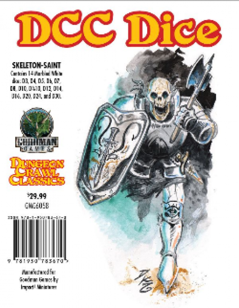 Dungeon Crawl Classics RPG: DCC Dice - Skeleton Saint