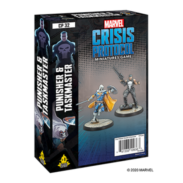 Marvel Crisis Protocol: Punisher & Taskmaster Character Pack