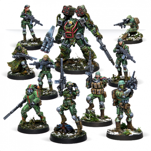 Infinity (#851)  Tartary Army Corps Action Pack