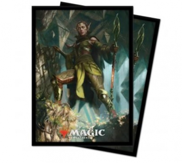 Magic: Zendikar Rising - Nissa of Shadowed Boughs Standard Deck Protectors (100)