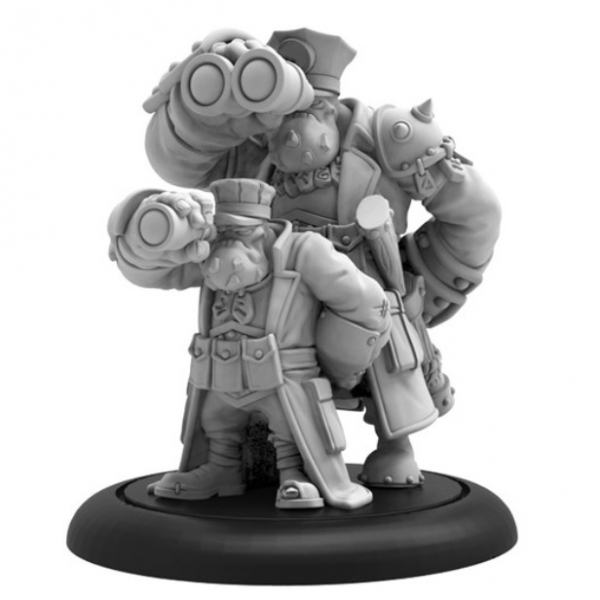 Hordes: (Trollbloods)  Trollkin Gunnery Sergeant – Trollblood Solo (resin/metal)