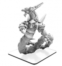 Monsterpocalypse: Gausamal – Draken Armada Monster (resin/metal)