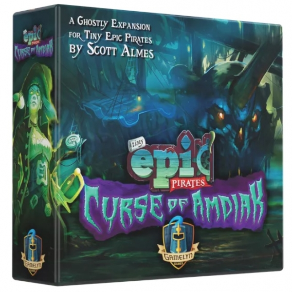 Tiny Epic Pirates: Curse of Amdiak Expansion