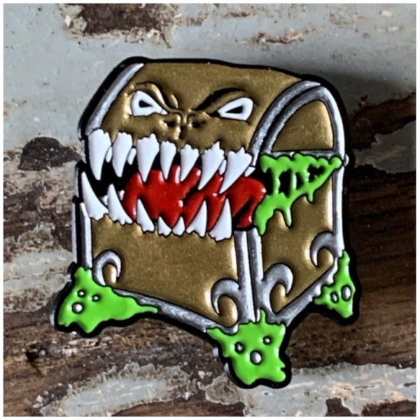 Creature Curation Enamel Pin: Mimic (Classic)