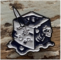 Creature Curation Enamel Pin: Black Ooze