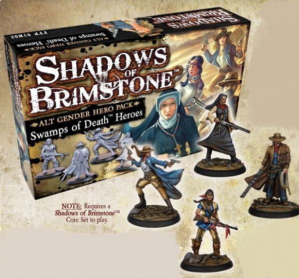 Shadows Of Brimstone: Swamps of Death Alt Gender Hero Pack