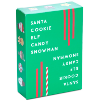 Santa Cookie Elf Candy Snowman