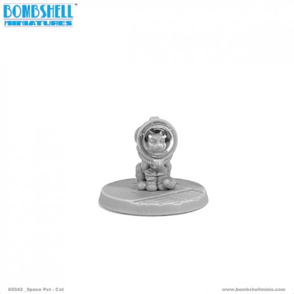 Bombshell Miniatures: Sidekicks - Space Pet Cat